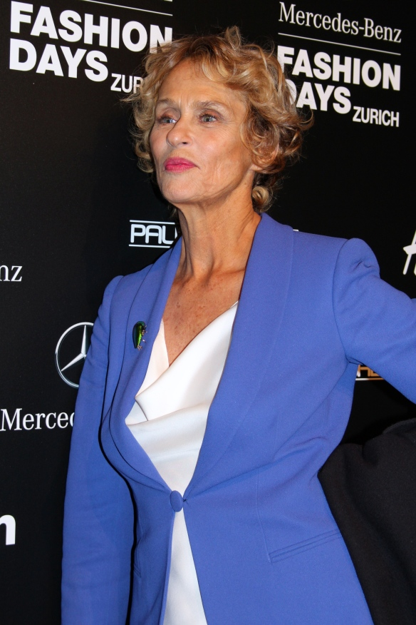 Lauren Hutton, Mercedes Benz Fashion Days, © NewinZurich.com