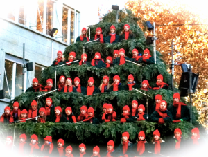 Singing Christmas Tree, ©NewInZurich