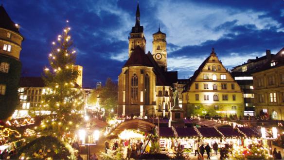 Christmas Market, Stuttgart